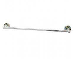 Держатель полотенец одинарный WasserKraft Diemel K-2230 (хром глянец)