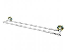 Держатель полотенец двойной WasserKraft Diemel K-2240 (хром глянец)