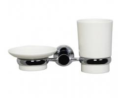 Держатель стакана и мыльницы WasserKraft K-28226 (хром глянец)