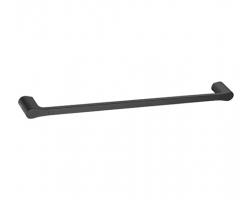 Штанга для полотенец Wasser Kraft Elbe K-7230 (чёрный, PVD покрытие)