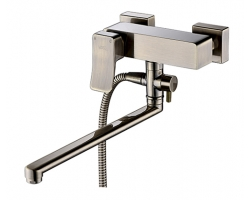 Смеситель для ванны Wasser Kraft Exter 1602L (светлая бронза)
