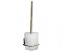 Щетка для унитаза подвесная WasserKraft Exter К-5227 (светлая бронза)