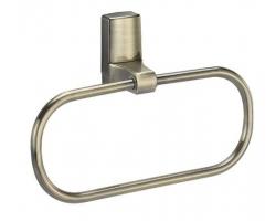 Держатель полотенец кольцо Wasser Kraft Exter К-5260 (светлая бронза)