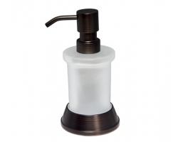 Дозатор для жидкого мыла WasserKraft Isar K-2399 (тёмная бронза)