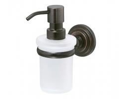 Дозатор для жидкого мыла WasserKraft Isar К-7399 (темная бронза)