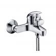 Смеситель для ванны WasserKraft Isen 2601 (хром глянец, с душевым комплектом)