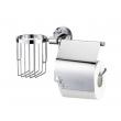 Держатель туалетной бумаги и освежителя WasserKraft Isen K-4059 (хром глянец)