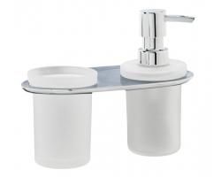 Держатель стакана и дозатора Wasser Kraft Kammel К-8389