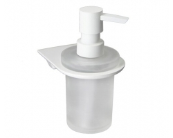 Дозатор для жидкого мыла WasserKraft Kammel K-8399WHITE (белый)