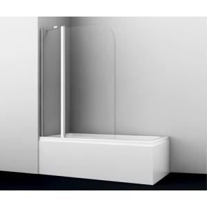 Душевая шторка Wasser Kraft Leine 35P02-110 110 см. (распашная, двухстворчатая)