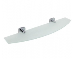 Полка стеклянная WasserKraft Lippe К-6524 (хром глянец)