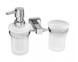 Держатель стакана и дозатора Wasser Kraft Lippe К-6589