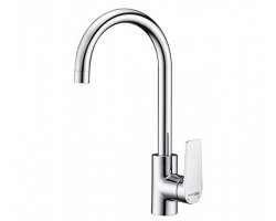 Смеситель для кухни WasserKraft Lopau 3207 (хром глянец)