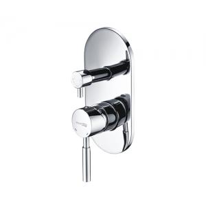 Смеситель для ванной Wasser Kraft Main 4141 (хром глянец, скрытого монтажа, внешняя часть+скрытая часть)
