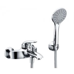 Смеситель для ванны WasserKraft Rossel 2801 (хром глянец, с душевым комплектом)