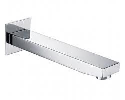 Настенный излив для ванны WasserKraft A091 240 мм. (хром глянец)