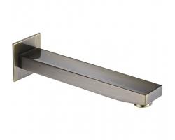 Настенный излив для ванны WasserKraft A107 240 мм. (светлая бронза)