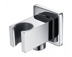 Шланговое подключение с держателем WasserKraft A086 (хром глянец)