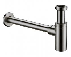 Сифон для раковины WasserKraft A093 (матовый хром)