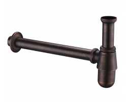 Сифон для раковины WasserKraft A095 (темная бронза)