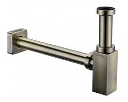 Сифон для раковины WasserKraft A096 (светлая бронза)