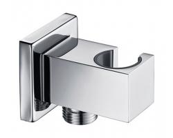 Шланговое подключение с держателем WasserKraft A125 (хром глянец)