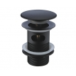 Донный клапан Wasser Kraft Push-up A080 (Soft-touch, click-clack)