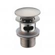Донный клапан WasserKraft Push-up A073 (матовый хром, click-clack)