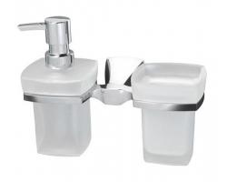 Держатель стакана и дозатораn Wasser Kraft Wern К-2589